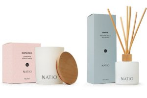 Natio Romance Candle & Happy Reed Diffuser Beauty Over 40