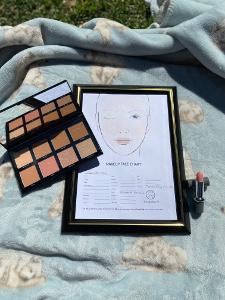Fair Skin Morphe 8F Free Blush and Mavala Beige Crumble Beauty Over 40