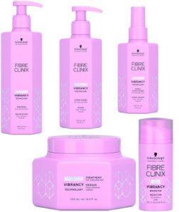 Schwarzkopf Professional Fibre Clinix Vibrancy Range Beauty Over 40
