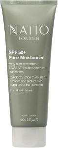 Natio for Men Face Moisturiser SPF 50+ Beauty Over 40