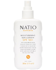 Natio Moisturising Sun Spray SPF 50+ Beauty Over 40