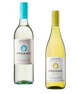 Angove Organic Pinot Grigio and Chardonnay Beauty Over 40