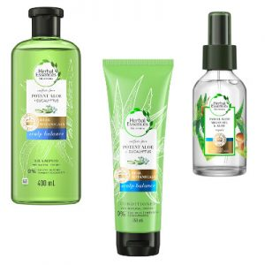 Herbal Essences bio:renew Potent Aloe Collection Trio Beauty Over 40