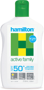Hamilton Active Family SPF 50+ Sunscreen Beauty Over 40