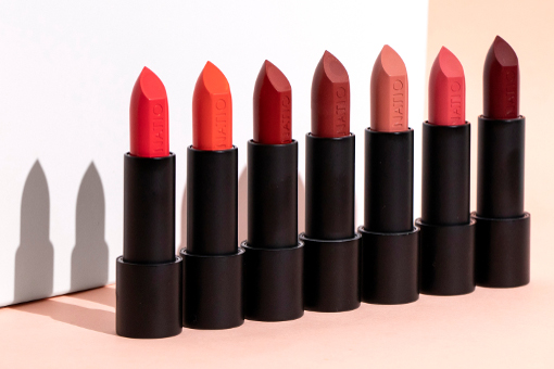 Natio Wild Roses Lipsticks
