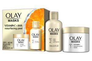 Olay Vitamin C & AHA Resurfacing Peel Beauty Over 40