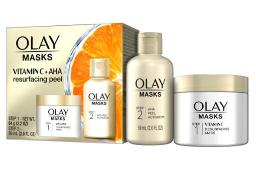 Olay Vitamin C Mask & AHA Resurfacing Peel