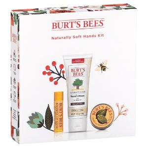 Burt's Bees Naturally Soft Hands Kit Beauty Over 40