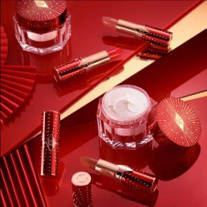 Charlotte Tilbury Lunar New Year Magic Cream and Lipsticks Beauty Over 40