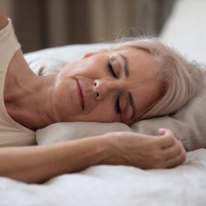 Woman sleeping Shutterstock Fizkes Beauty Over 40