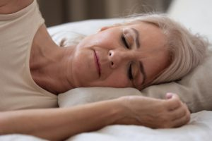 Woman sleeping Fizkes World Sleep Day Beauty Over 40
