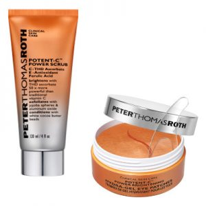 Peter Thomas Roth Potent C Scrub and Eye Patches Beauty Over 40
