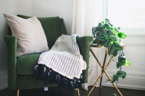 chair and blanket Zandria Ross Pixabay Beauty Over 40