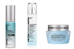 Peter Thomas Roth Water Drench Hyaluronic Glow Serum plus Toner and Eye Gel Beauty Over 40
