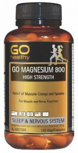GO Magnesium 800 High Strength Capsules Beauty Over 40