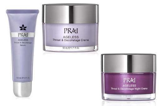 PRAI Beauty Ageless Neck Serum and Cremes